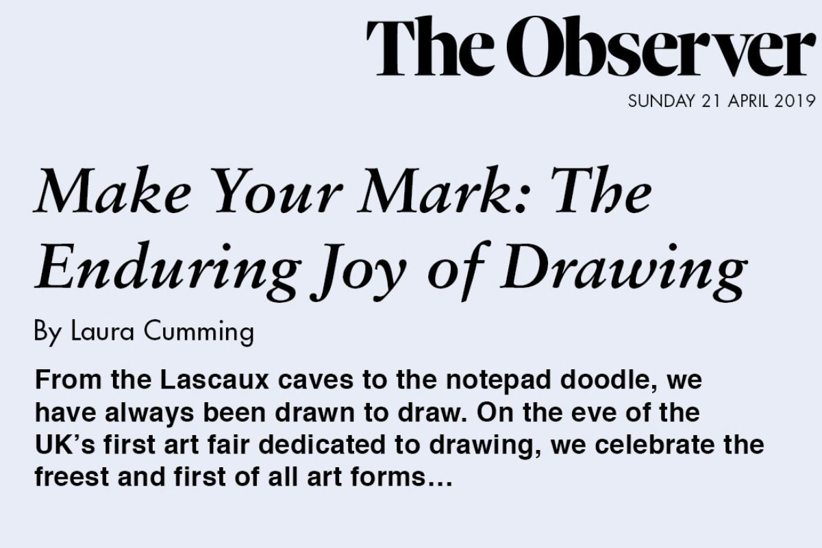 Make Your Mark: The Enduring Joy of Drawing by Laura Cumming