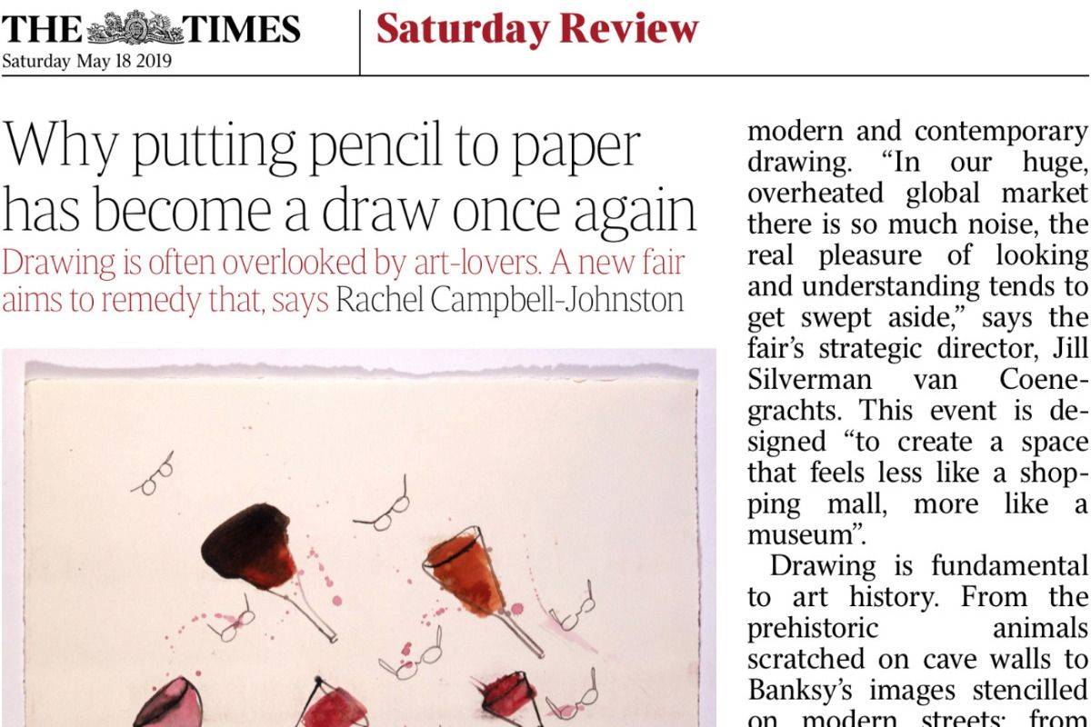 Drawing is the draw – The Times today