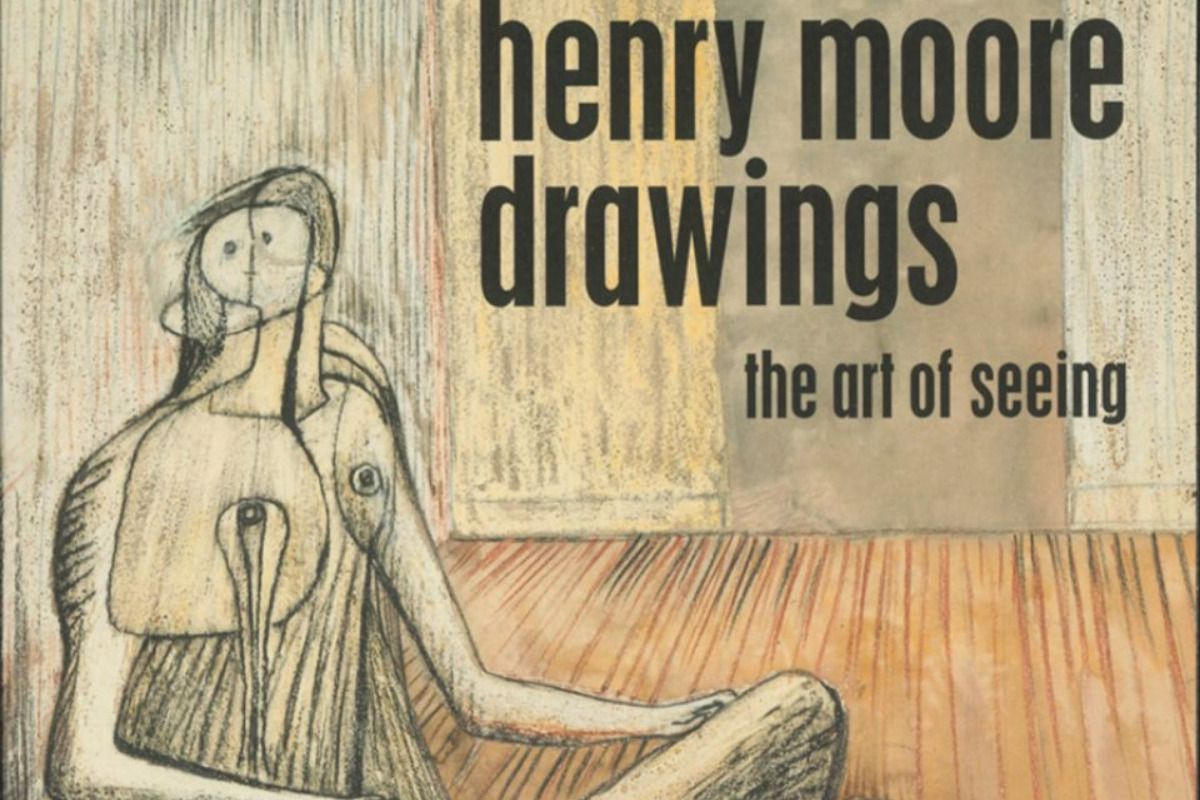 Henry Moore's drawings on show in his Studio and Gardens, Hertfordshire