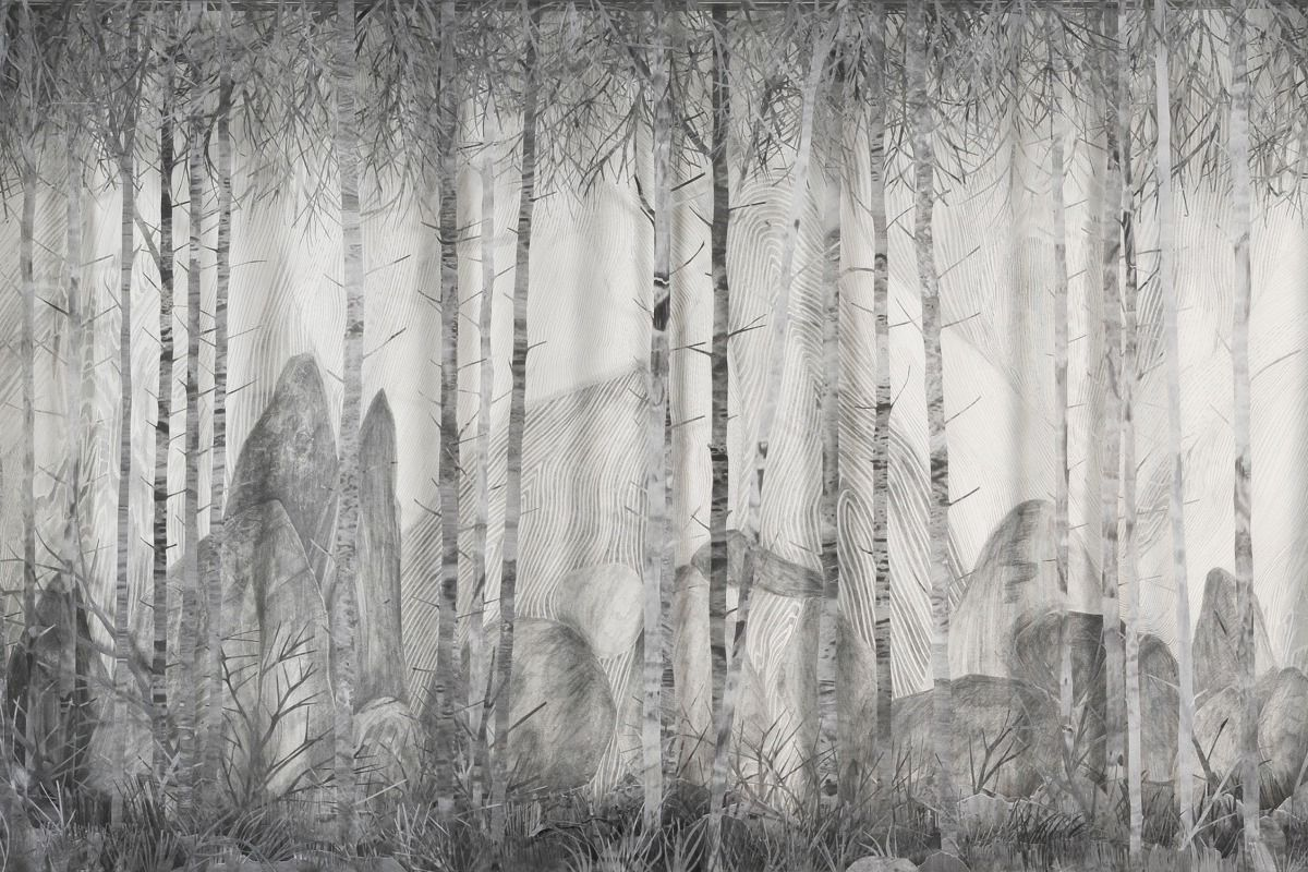 Eva Jospin's forests at the Hayward and Draw Art Fair